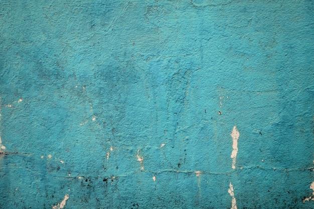 Cor verde de mar vazio do muro de cimento do grunge para a textura. fundo vintage Foto Premium