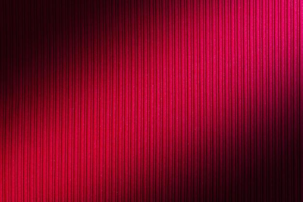Cor vermelha do fundo decorativo, inclinação listrado da diagonal da textura. Foto Premium
