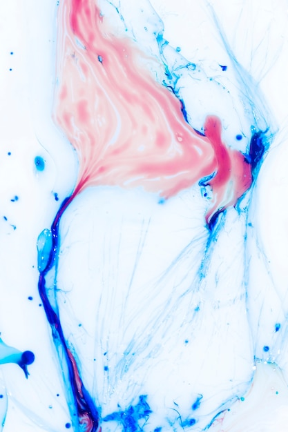 Cores combinadas bonitas abstraem em óleo Foto gratuita
