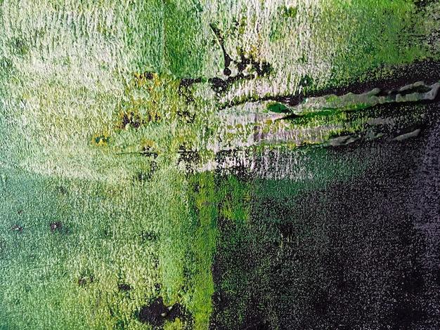 Cores verdes e pretas do fundo da arte abstracta. Foto Premium
