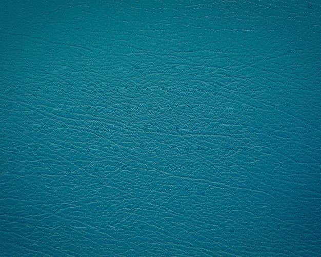 Couro azul com textura / estrutura Foto Premium