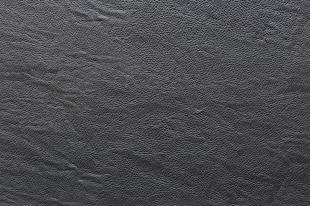 Couro preto e fundo de textura. Foto Premium