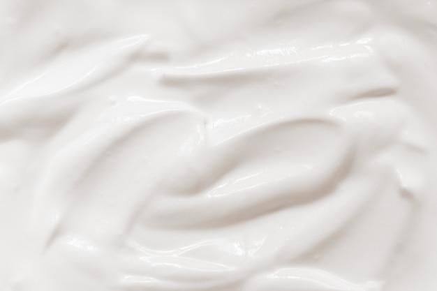 Creme de leite, textura de iogurte Foto Premium