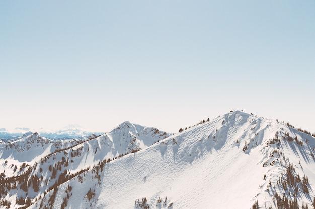 Crystal mountain Foto gratuita