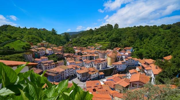 Cudillero aldeia nas astúrias espanha Foto Premium