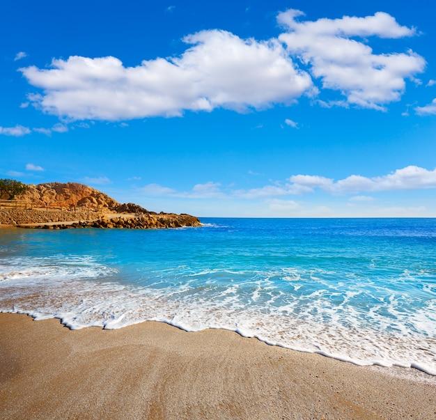Cullera platja del far praia playa del faro valência Foto Premium