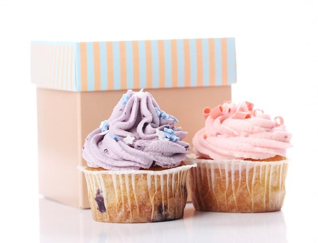 Cupcakes de férias Foto gratuita
