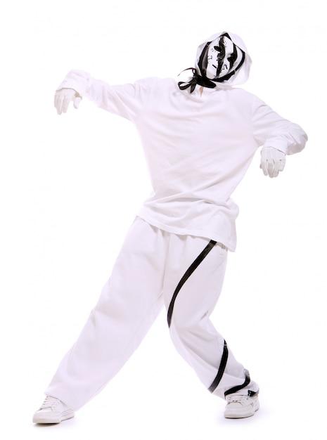 Dançarino de hip-hop na dança Foto gratuita