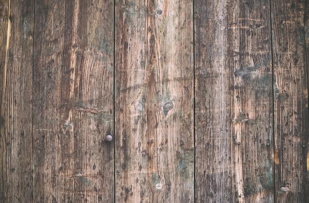De madeira rústica pintada velha resistida. Foto Premium