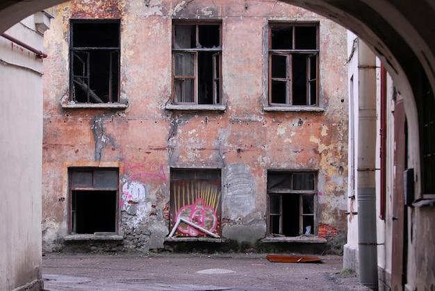 Decadência urbana Foto gratuita
