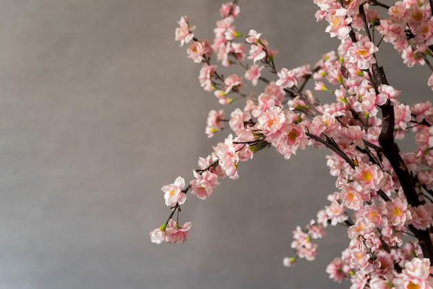 Decoração de ano novo chinês floral Foto gratuita