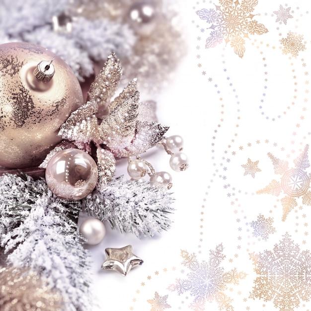 Decoração de natal Foto Premium