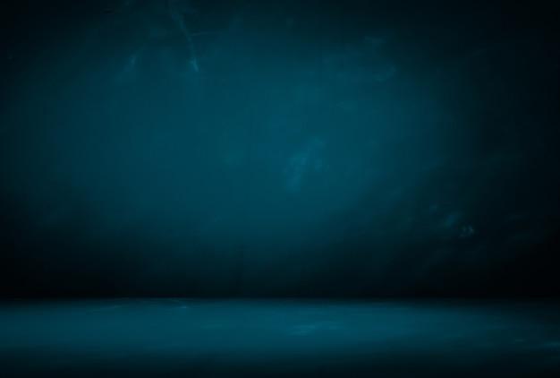 Decoração de padrão de mármore azul na parede e no chão Foto Premium