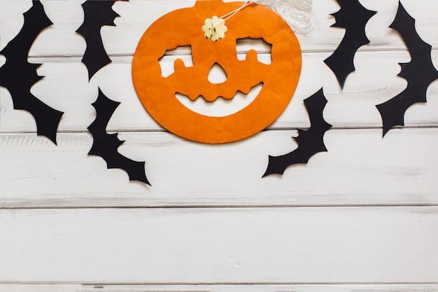 Decoração de papel para festa de Halloween | Baixar fotos gratuitas