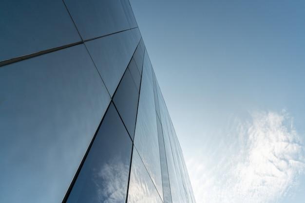 Decoração moderna da parede do espelho do centro de negócios Foto Premium