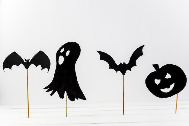 Decorações de Halloween de papel colocar na mesa | Baixar fotos ...