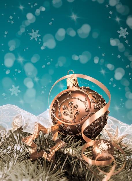 Decorações de natal Foto Premium