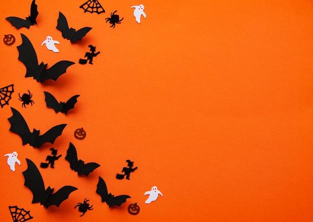 Decorações do feriado do dia das bruxas Foto Premium