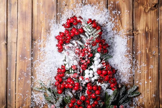 Decorações tradicionais de natal Foto Premium