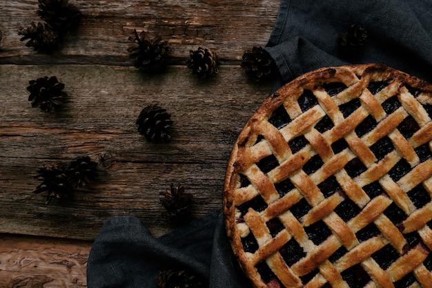 Deliciosa torta de mirtilo Foto gratuita
