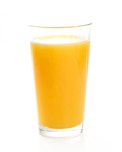 Delicioso copo de suco de laranja Foto gratuita