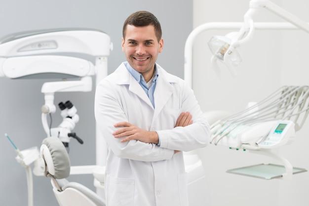 Dentista amigável Foto gratuita