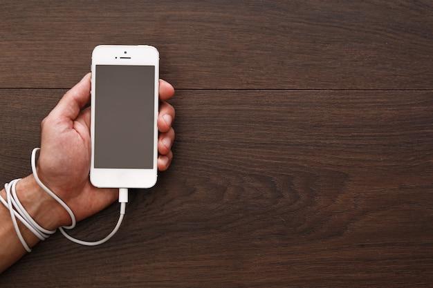 Dependência de smartphones e redes sociais Foto Premium
