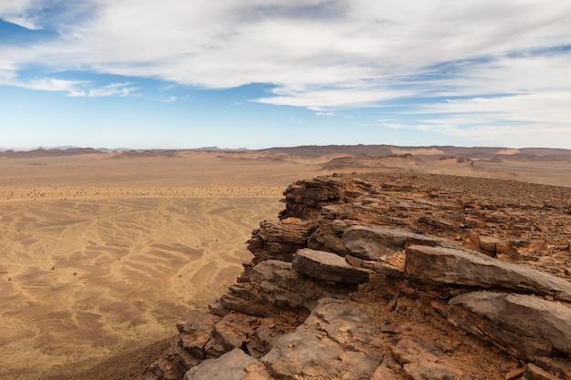 Deserto do saara, marrocos Foto Premium