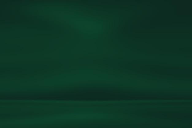 Desfoque abstrato vazio fundo gradiente verde Foto Premium