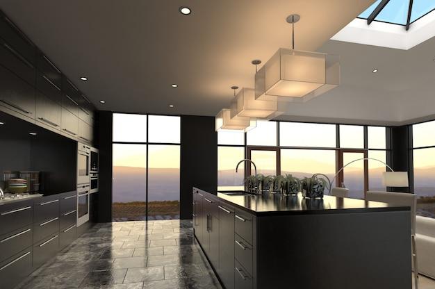 Design de interiores de luxo Foto Premium