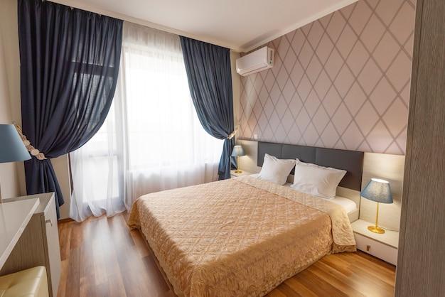 Design de interiores de quarto Foto Premium