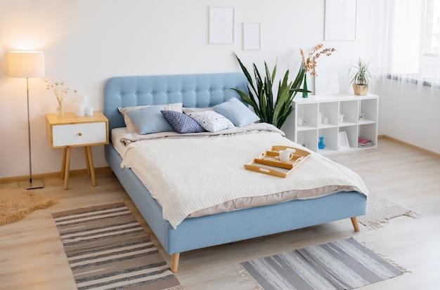 Design de interiores escandinavo Foto Premium