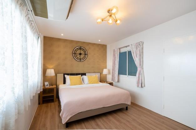 Design de interiores no quarto da casa Foto Premium