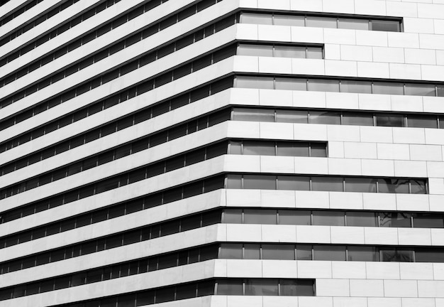 Desing moderno edifício Foto gratuita