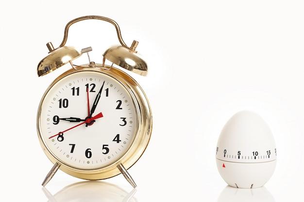 Despertador e timer de cozinha Foto gratuita