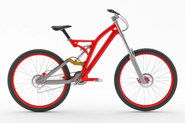 Desporto moto vermelha Foto gratuita
