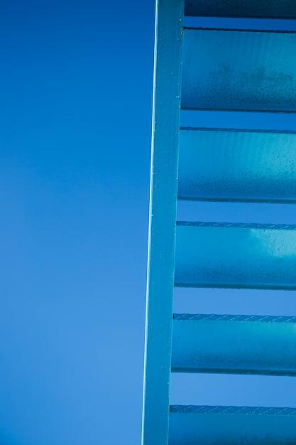 Detalhe, de, urbano, escadas Foto gratuita