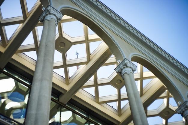 Detalhes arquitetônicos exteriores Foto Premium
