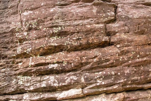 Detalhes de fundo de textura de pedra de areia natural Foto Premium