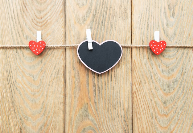 Dia dos namorados romântico Foto Premium