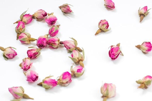 Dia internacional da mulher em 8 de março Foto gratuita