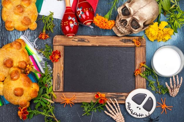 Dia mexicano da decoração morta Foto Premium