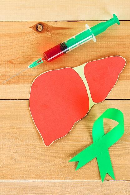Dia mundial da hepatite Foto Premium