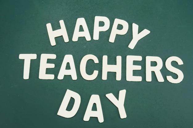 Dia mundial dos professores Foto gratuita