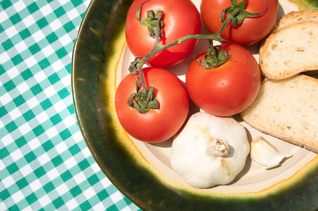 Dieta mediterrânea Foto gratuita