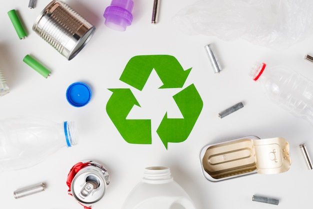 Diferentes tipos de cama são adequados para reciclagem Foto gratuita