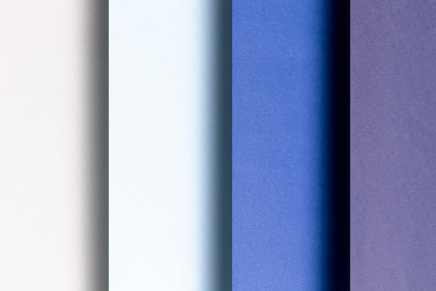 Diferentes tons de padrões azuis Foto gratuita