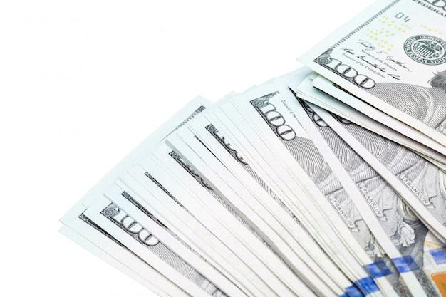 Dinheiro close-up Foto Premium