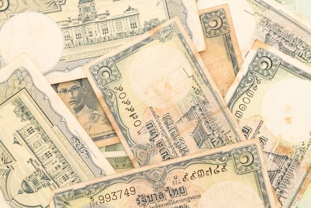 Dinheiro em dinheiro dinheiro contas Foto gratuita
