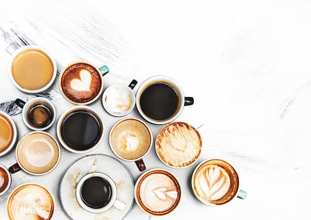 Diversos xícaras de café Foto gratuita